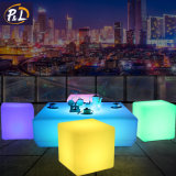 Jardin Accueil Light up LED colorées Table Cube