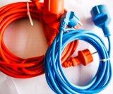 Bobina francese del cavo di estensione, mini bobina di cavo di N-F, tipo dello zoccolo del Belgio Francia, striscia di potere della Polonia, bobina di collegare del cavo elettrico, spina