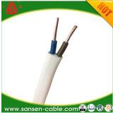 PVCによって絶縁されるおおわれた銅線の適用範囲が広いフラットケーブルNmB