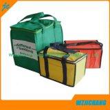 Promocional PP recubierto Personalizadas reciclado Eco TNT ultramarinos Bolsa No Tejido