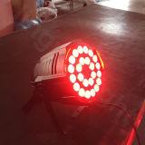 段階DJは紫外線64 LED 24 18W RGBWをパーでとる