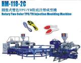 Sola macchina di fabbricazione dello stampaggio ad iniezione del pattino (colore 2)