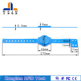 Wasserdichter Offsetdrucken RFID Kurbelgehäuse-BelüftungWristband für Schwimmbäder