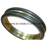 Groupe de joint/flottement/boucle de chassoir de face en métal cône de duo/joint d'excavatrice