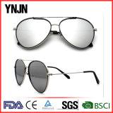 Óculos de sol piloto de tamanho grande de China do Mens das lentes do espelho de Ynjn (YJ-F35316)