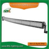 Barre tous terrains d'éclairage LED de courbure de pouce 300W EMC Emark de la barre 52 d'éclairage LED incurvée par CREE de véhicule