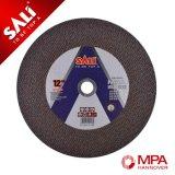 300X3.0X22.2mm abrasivo acero Cuting Disco Ruedas para el corte de metales
