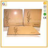 Scheda di carta/stampa della cartolina d'auguri/cartolina nel prezzo poco costoso