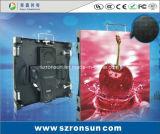 Do estágio pequeno Ultrathin do passo do pixel de P2.5mm tela de indicador interna Rental do diodo emissor de luz