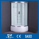 Cabinas europeas de la ducha del vidrio helado del estilo