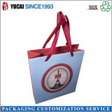 210g carton blanc Sac shopping Sacs de transport papier