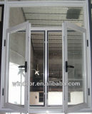 Heißes Verkaufs-Aluminiumfenster-Puder-überzogenes Oberflächenaluminiumfenster/Flügelfenster-Fenster