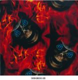 Best Seller de Impresión por Transferencia de Agua de la película el patrón de cráneo nº S004HG914b