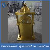 ステンレス鋼のヘアラインモスクの金コレクションの箱