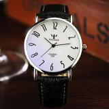 Unisexuhr-wasserdichte Armbanduhr der Kompaktbauweise-299 mit blauem Glas