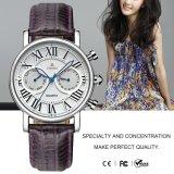 Moda de alta calidad reloj de acero inoxidable para damas 71127