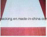 Hoja plástica de Correx Coroplast Corflute de la bandeja de los PP del polipropileno con 1220*2440mm*3m m 4m m 5m m con la impresión simple