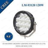 9-дюймовый автомобильный светодиодный фонарь направленного света 120W вспомогательные фары дальнего света для грузовиков