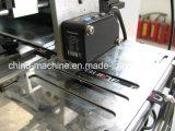 広く編まれ、印刷されたラベルの切断およびFoldding機械