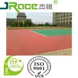 Couvre-tapis en plastique de revêtement de terrain de basket coloré et professionnel
