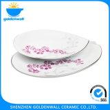 Il deserto di ceramica di stampa placca i piatti
