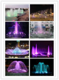 Park-Wasser-im Freienmusik-Farben-Brunnen