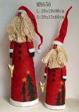 O Natal Decoration-Standing Santa Claus (MX656)