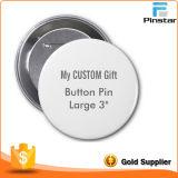 Оптовая продажа подгонянная вокруг значка кнопки Pin, подарков промотирования