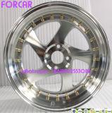 Roues en aluminium d'alliage de reproduction de roues de véhicule de marque américaine de l'Allemagne Zedd