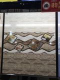 Azulejo brillante esmaltado Minqing de la pared de Pisos Ceramicos de la inyección de tinta del material de construcción
