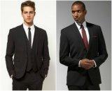 女性のための新しいデザインパンツスーツ、人のためのメンズスーツ