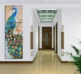 キャンバスによって組み立てられる芸術Mc213のプリント3部分の壁の芸術の孔雀の絵画壁の芸術プリント絵画ホーム装飾映像