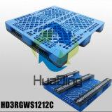 """pallet di plastica impilati resistenti di rinforzo acciaio materiale dell'HDPE 1200X1200 (48 """" X48)"""