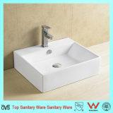Lavabo en porcelaine de gros creux pour salle de bains