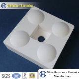 Ceramische Slijtvaste Tegels voor Stapelaars en Warmtewisselaars