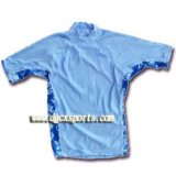 La moda 4-Way Stretch Lycra Rash Vest
