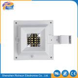 IP65 6W-10W rimuovono l'indicatore luminoso solare della parete esterna di vetro del quadrato LED