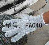 革切口の抵抗の手袋