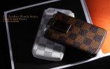 Caisse pour le téléphone d'iPhone (séries en cuir de poche)