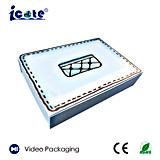 El más nuevo diseño para el rectángulo video del saludo del LCD de 6 pulgadas con Ce&RoHS