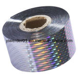 Hot Stamping Film una impresión personalizada de holograma (H-095)