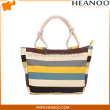 Ladies Fashion Shoulder Canvas Totes promocionais Gift Shopping Beach Bag