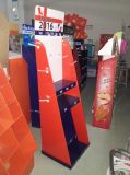 Point-of-Sale индикация для розницы, бумажной стойки индикации, индикации картона шипучки, блока индикатора пола стоящего, индикации Dumpbin