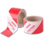 빨강과 백색 PE 약해지는 테이프