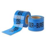 파란과 백색 색깔 PE 약해지는 테이프