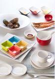 Plato de la salsa de la melamina/material de la melamina del condimento el Dish/100% (WT10012)