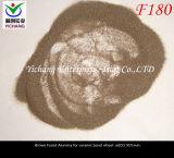 Brown ha fuso l'allumina per i materiali schiavi di ceramica della rotella