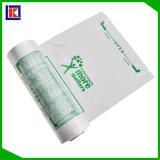 Sac en plastique biodégradable d'emballage de nourriture bon marché de 100%