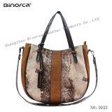 전문가 ODM/OEM 새로운 형식 직물 및 Handbags 좋은 품질 경쟁가격을%s 가진 PU 대조 숙녀