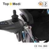 Кресло-коляска электричества высокого качества Topmedi складывая для с ограниченными возможностями люди с ограниченными возможностями